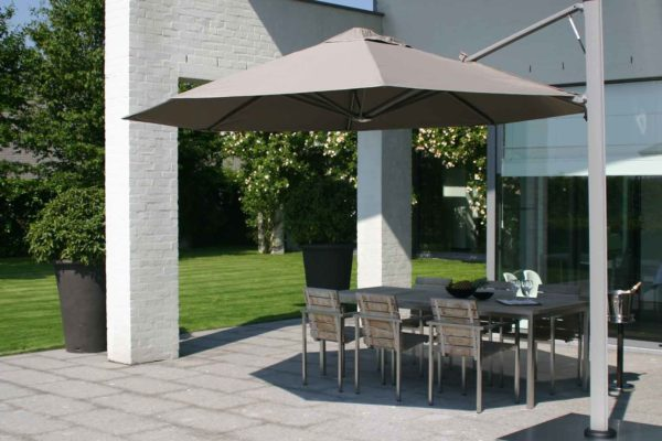 parasol terrasse excentre